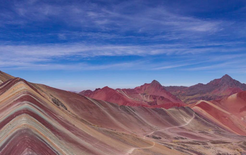 Montagne 7 couleurs au pérou